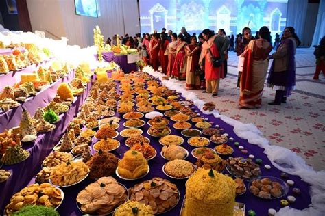 hindus celebrate new year with light bright colors at