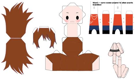 free papercraft templates to dc3 emilia papercraft template by ricecooker on deviantart