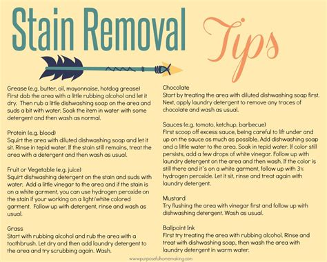 10 Best Stain Removal Tips by My Favorite Stain Removal Tips