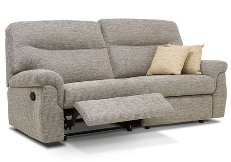 reclining settees rembrandt large fabric reclining settee race furniture