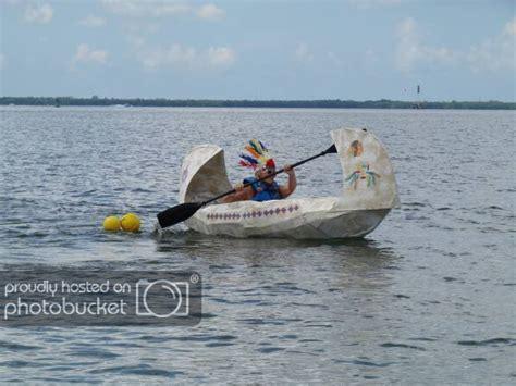 cardboard boat race florida cardboard boat race results florida sportsman