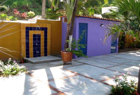 outdoor bathroom rental casa patrizia los ayala jaltemba bay riviera nayarit mexico