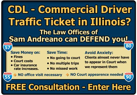 pay light ticket chicago illinois overweight traffic ticket cdl lawyer attorney