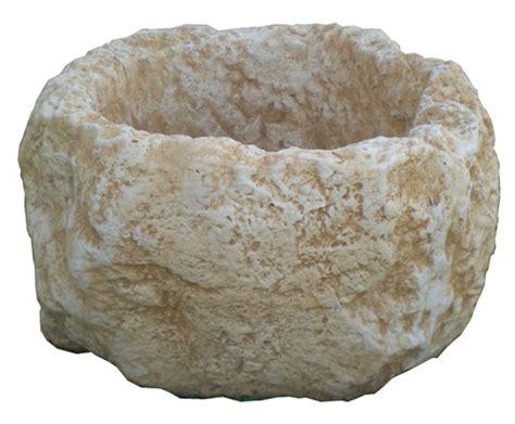 vaso pietra ricci manufatti creazioni in cemento