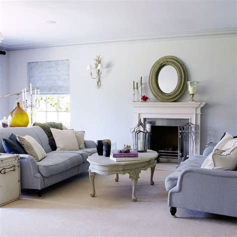 soft grey living room traditional living room ideas - Soft Grey Living Room