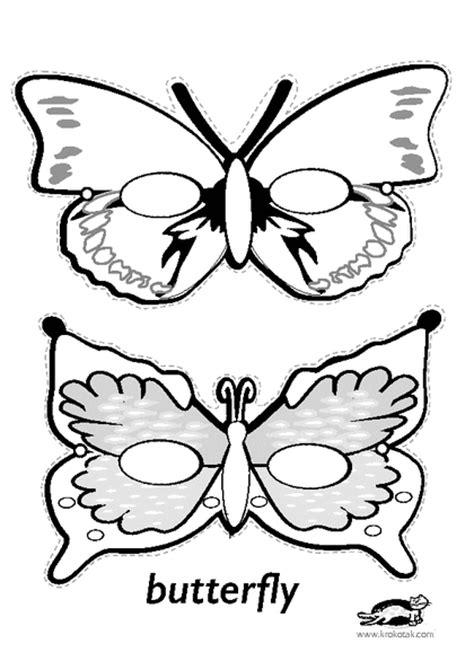 printable butterfly mask krokotak print printables for kids d 233 guisements