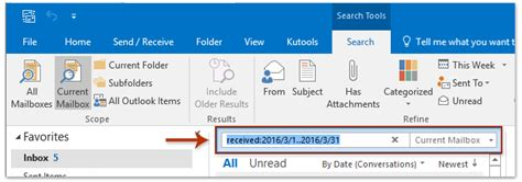 Search Dating By Email How To Search Email By Date Range Between Two Dates In Outlook