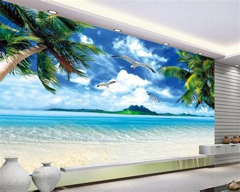 Wall Sticker Wall Paper by Wall Paper Murals Scenery Mural Wallpaper