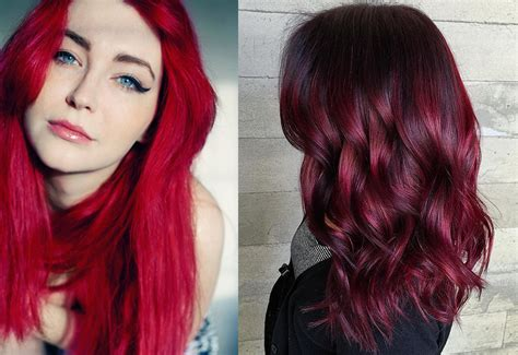 hair color trends 2017 hair trends 2017 red hair shades