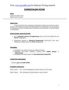 resume sle for fresher what resume can you get with computer science sales