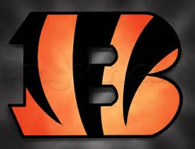 how to draw the bengals logo step by step sports pop