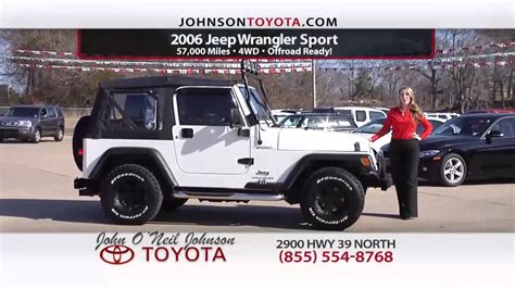 o neil johnson toyota used car specials meridian ms