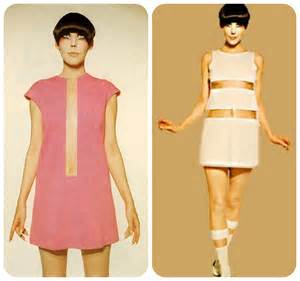 Gernreich kind of summer mixing the decades
