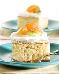 tres leches cake recipe martha stewart