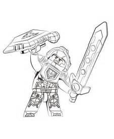 kids n fun com coloring page lego nexo knights clay