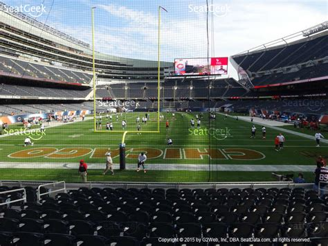 soldier field section 142 soldier field seat views seatgeek