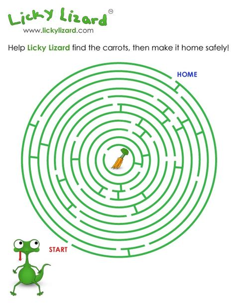 printable lizard maze 30 best images about mazes on pinterest free printable