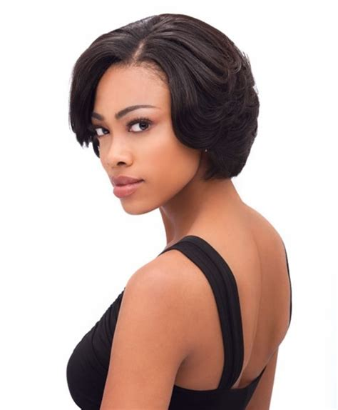 short bump weave hairstyles 76 best short wigs for black women images on pinterest