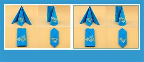serviettenfalttechniken mit papierservietten papierservietten falten zur taufe beschriftet