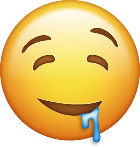 drooling emoji  iphone emojis emoji island