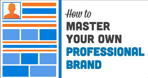 mastering your professional brand on marketing