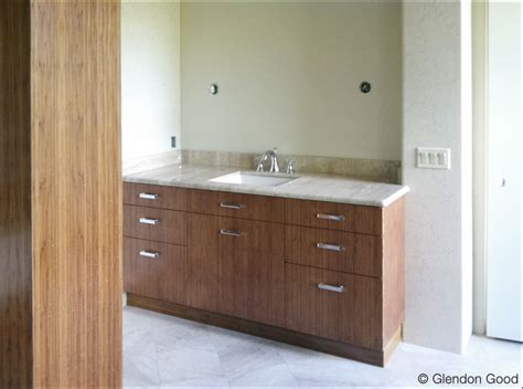 bamboo bathroom cabinets glendon good