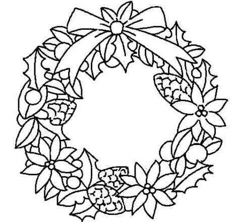 blank wreath coloring page 17 best images about coloring wreaths on pinterest
