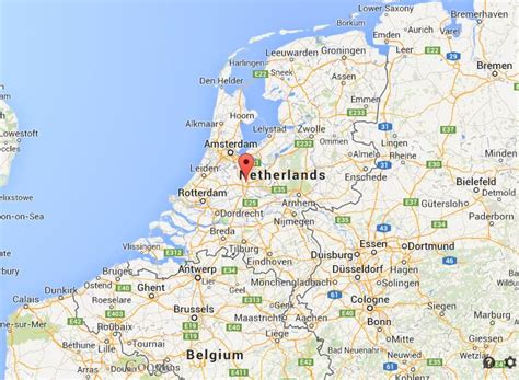 netherlands location in map where is utrecht on map of netherlands world easy guides