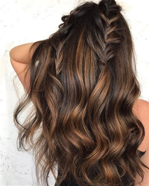bronze brown hair color 60 chocolate brown hair color ideas for brunettes hair