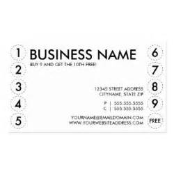 business punch card template free frequent business cards 900 frequent busines card