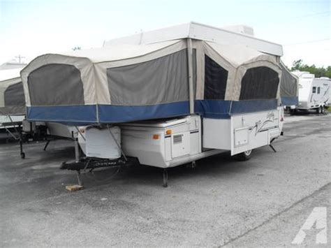 new pop up cers with bathrooms 2003 jayco eagle pop up cer with slide out a c toilet