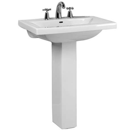 Menards Pedestal Sinks by Barclay Mistral 650 Pedestal Sink 8 Quot Widespread At Menards 174