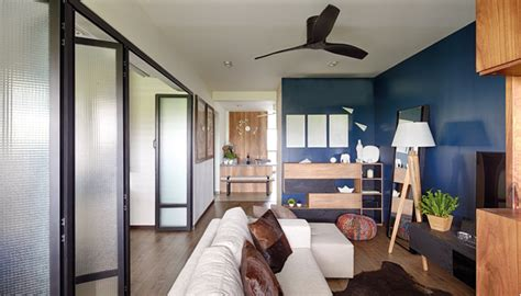 Living Room Sliding Doors Singapore 3 Tips To Make A Three Room Hdb Flat Larger