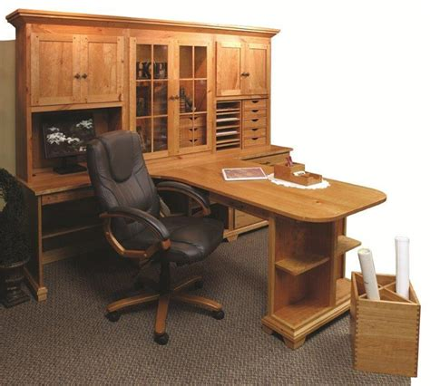 Amish Home Office Bentley Partners Double Desk Partner Desk Home Office