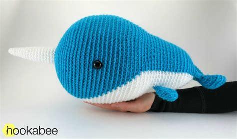 amigurumi narwhal pattern free walden the narwhal or whale amigurumi pattern hookabee