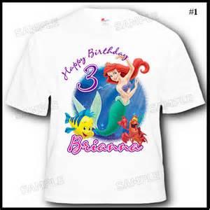 Ariel Birthday Shirts » Home Design 2017