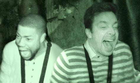 kevin hart haunted house kevin hart and jimmy fallon visit a haunted house