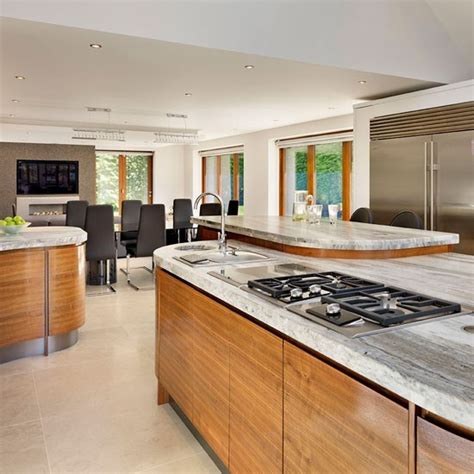 family kitchen diner with island trio family kitchen design ideas housetohome co uk