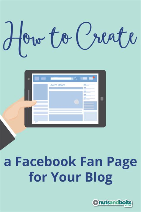 how to make a fan page how to create a facebook fan page for your blog