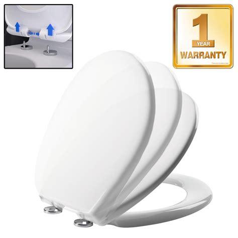 b q bathrooms toilet seats shires unison 2 white soft close seat cover u411301