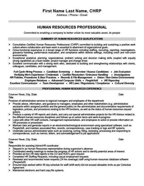 resume writing for hr professionals 28 images hr