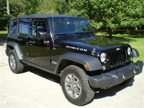 Jeep Wrangler For Sale In Illinois Find Used Jeep Wrangler Unlimited Rubicon In Lake