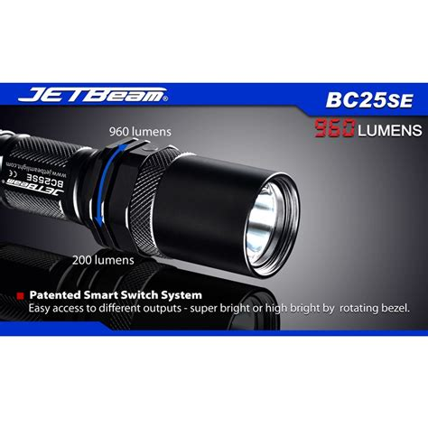 Jetbeam Sra40 Senter Led Cree Xm L2 960 Lumens jetbeam bc25se senter led cree xm l2 t6 960 lumens black jakartanotebook