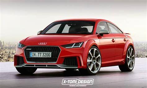 Audi Tt 2020 4 Door by Four Door Audi Tt Rs Sportback Rendered