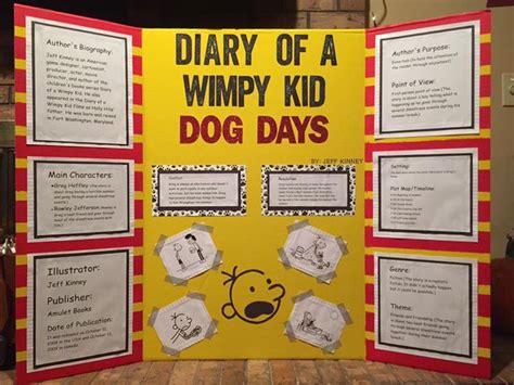 diary of a wimpy kid days book report summary pin by frances on reading fair projects