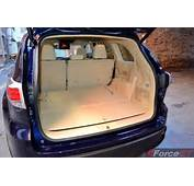 2014 Toyota Kluger Grande Interior Boot Space