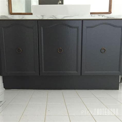 Updating Bathroom Vanity by Updating An Bathroom Vanity Hometalk