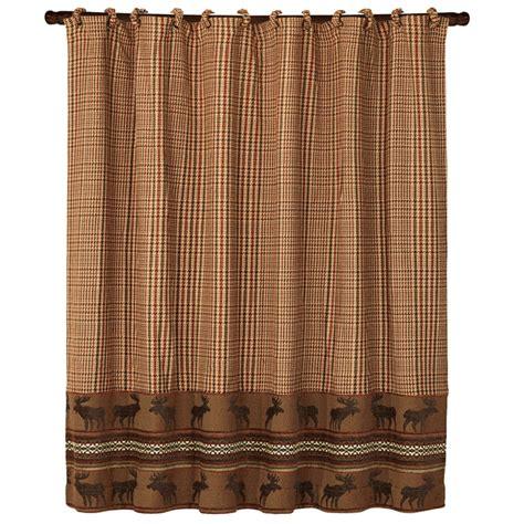 elk shower curtain bayfield moose shower curtain