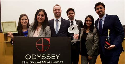 Study Competitions For Mba Students India by Ivey Students Win Odyssey Mba