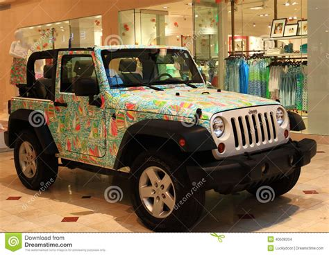 Jeep Clothing Shopping Fancy Jeep Suv Editorial Stock Image Image 40538204